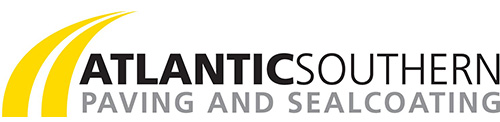 Example of a good paver company logo : Atlantic Southern Paving and Sealcoating.