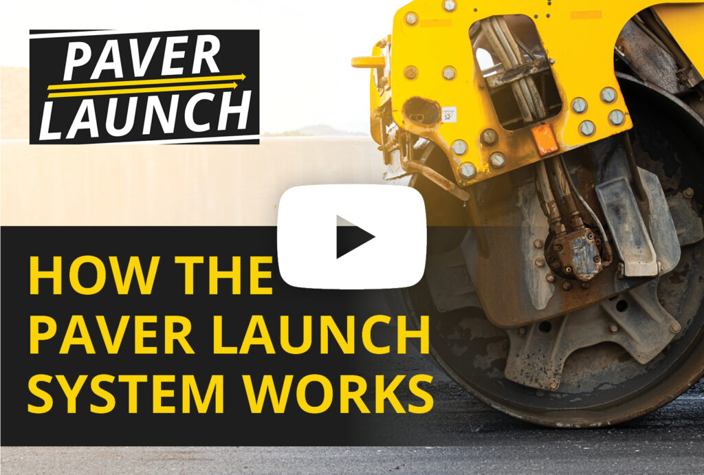 How the Paver Launch performance based marketing system for paving contractors works.
