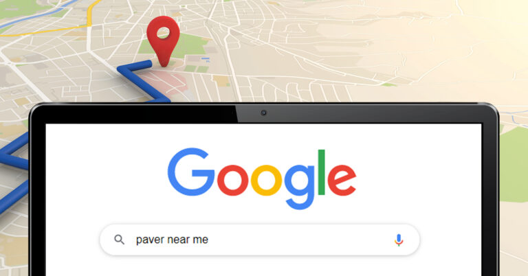 """Google search for """"paver near me"""